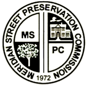 Meridian Street Preservation Commission Logo